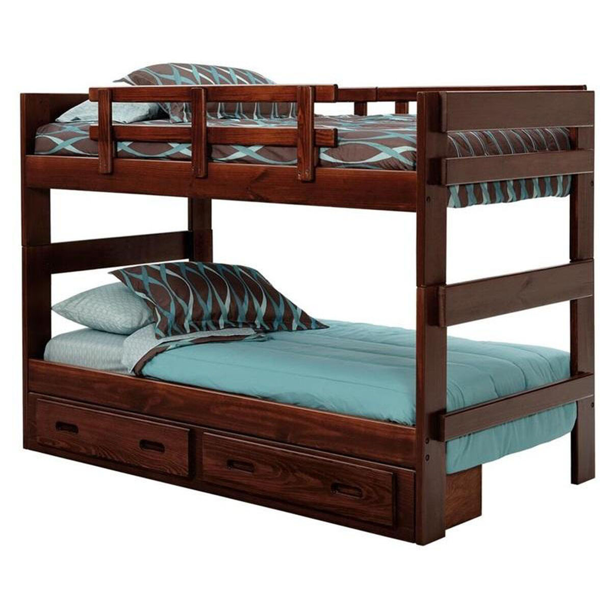 Chelsea home furniture rustic style solid pine stacking for Home furnishing sites