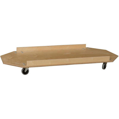 Our Wooden Cot Carrier with Locking Casters - 25