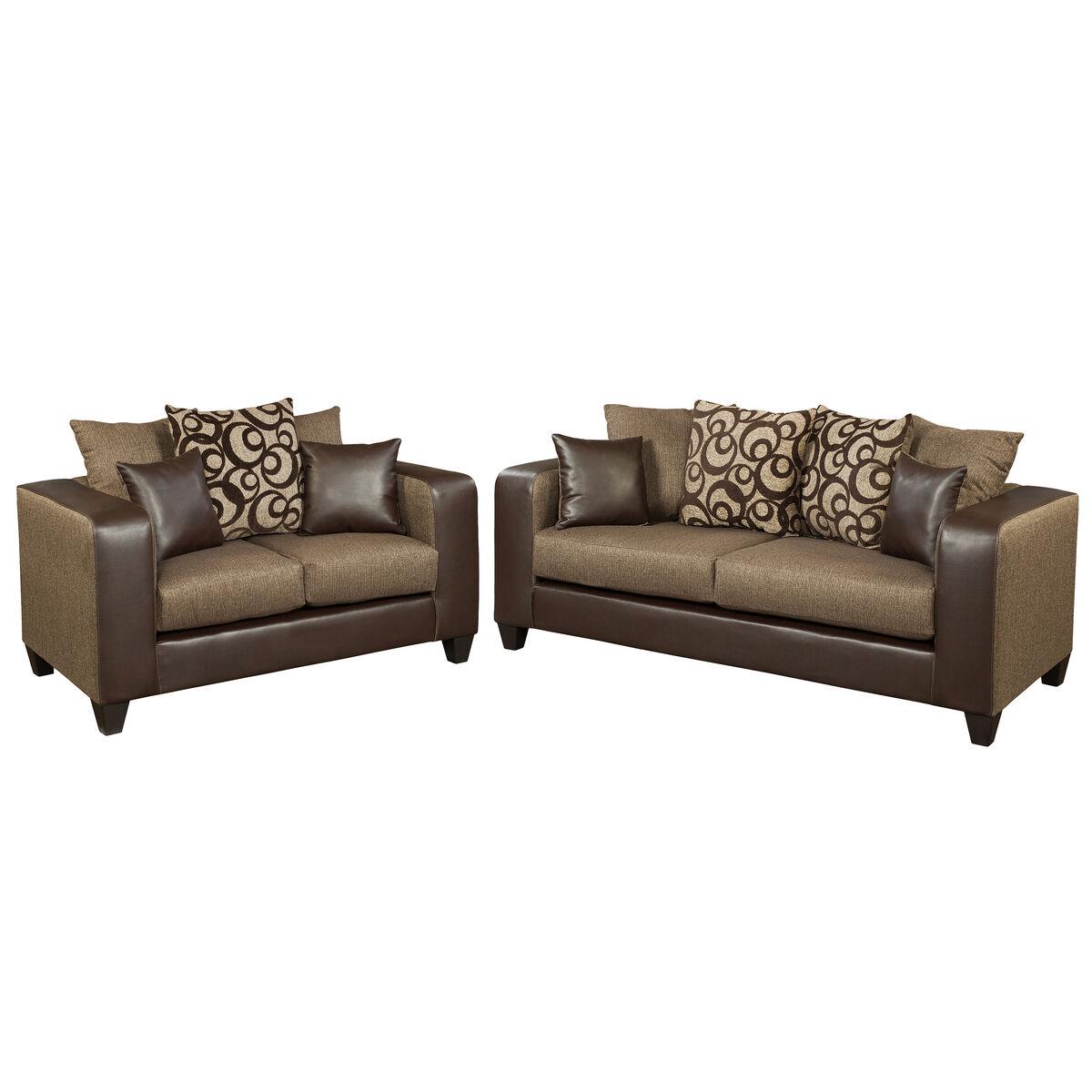 Flash furniture riverstone object espresso chenille living for Runescape xp table 1 99
