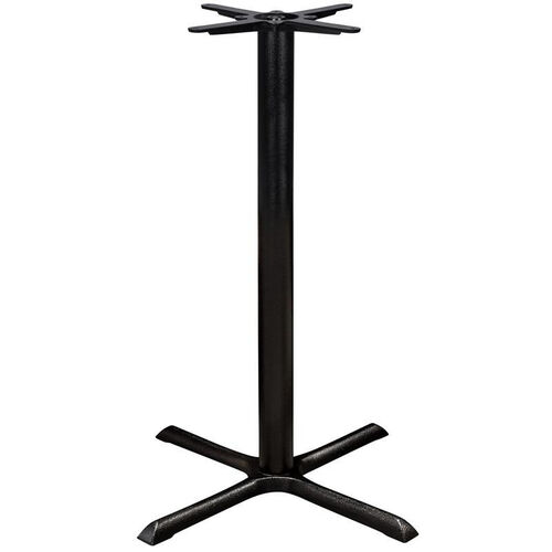 Our Valencia 4 Cast Iron Bar Table with Large X Shaped Base - Black Powder Coat is on sale now.