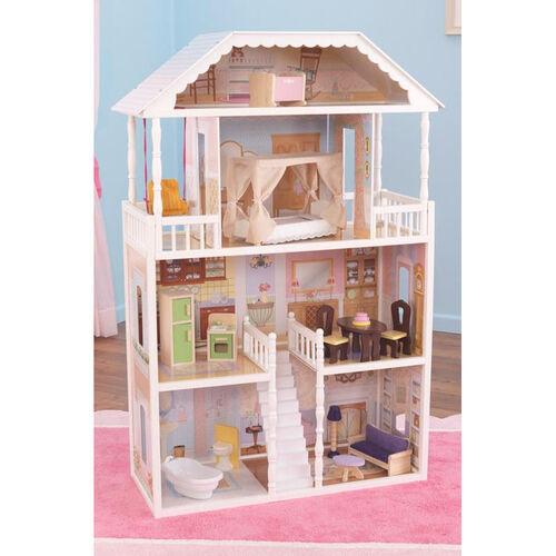 Our Savannah Elegant Mansion Dollhouse for 12