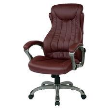 Work Smart Eco Leather Executive Manger