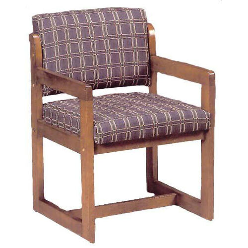 Our 3636 Reception Chair w/ Upholstered Back & Seat - Grade 1 is on sale now.