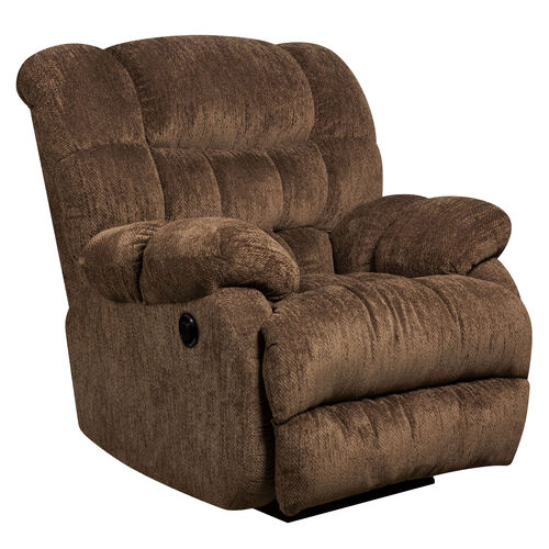 Our Contemporary Columbia Mushroom Microfiber Power Recliner with Push Button is on sale now.
