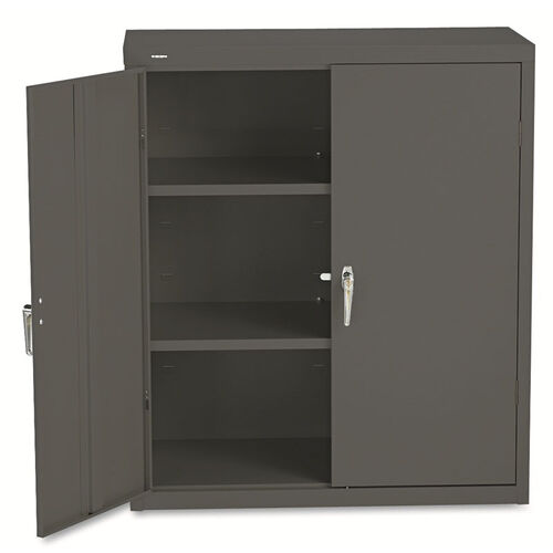 Our HON® Assembled Storage Cabinet - 36w x 18-1/4d x 41-3/4h - Charcoal is on sale now.