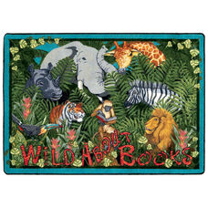Wild About Books Rug