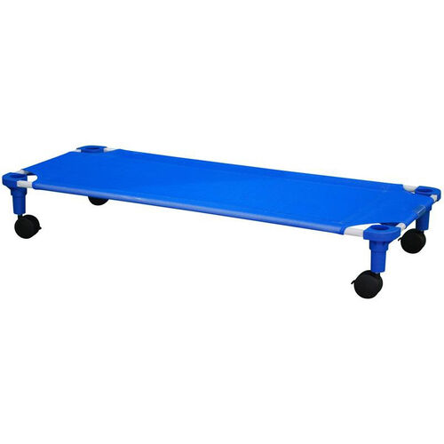 Our Blue Standard Sized Cot Dolly Assembled - 52