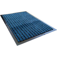 32'' x 48'' Doortex Ultimat Rectangular Indoor Entrance Mat- Blue