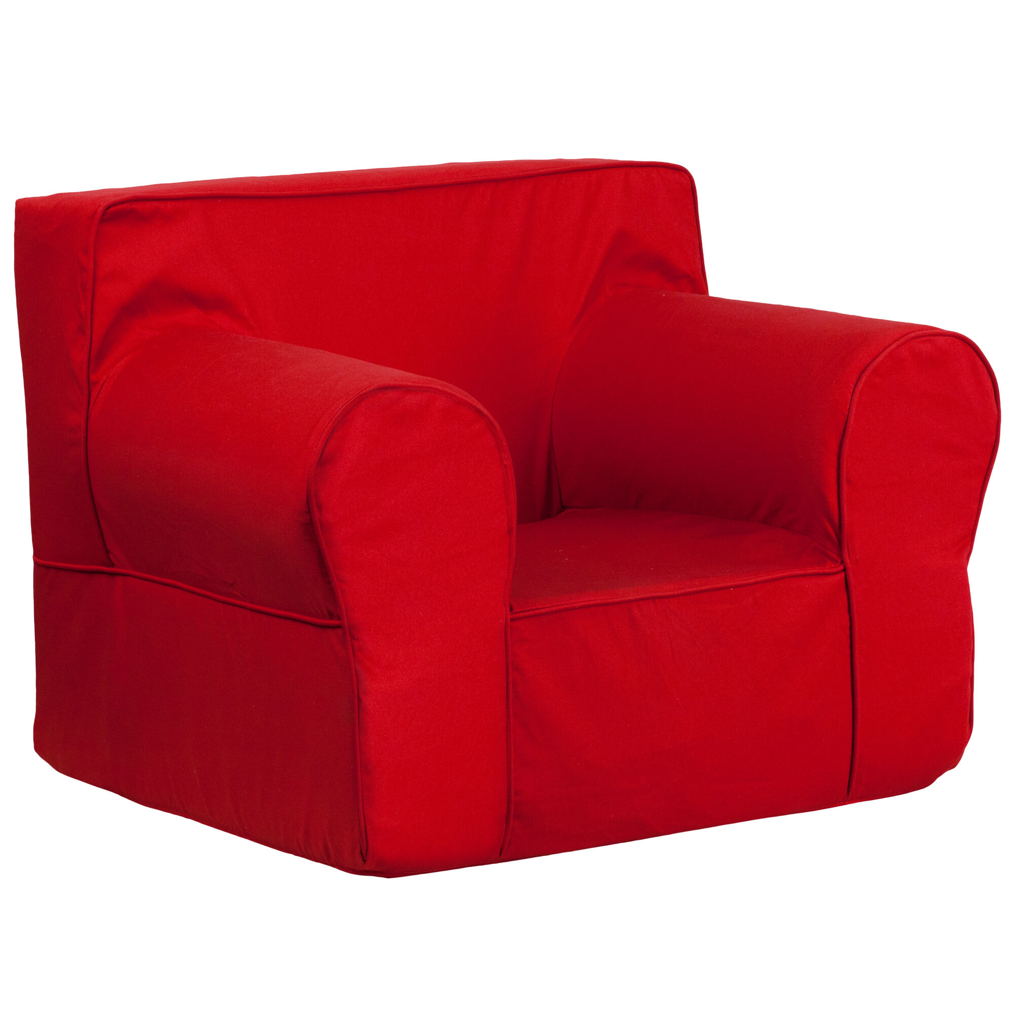 Our Oversized Solid Red Kids Chair Is On Sale Now