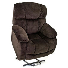 Reclining Sleeper Power Lift Chair with Backlit Hand Control - Cabo Godiva Fabric