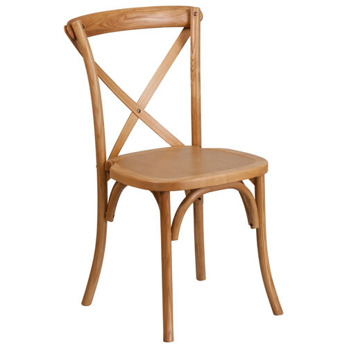 Our HERCULES Series Stackable Oak Wood Cross Back Chair is on sale now.