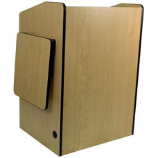 Multimedia Non-Sound Presentation Podium - Maple Finish - 33