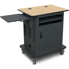 Vizion Instructor Cart Series Height Adjustable Copper Level All-in-One Teacher