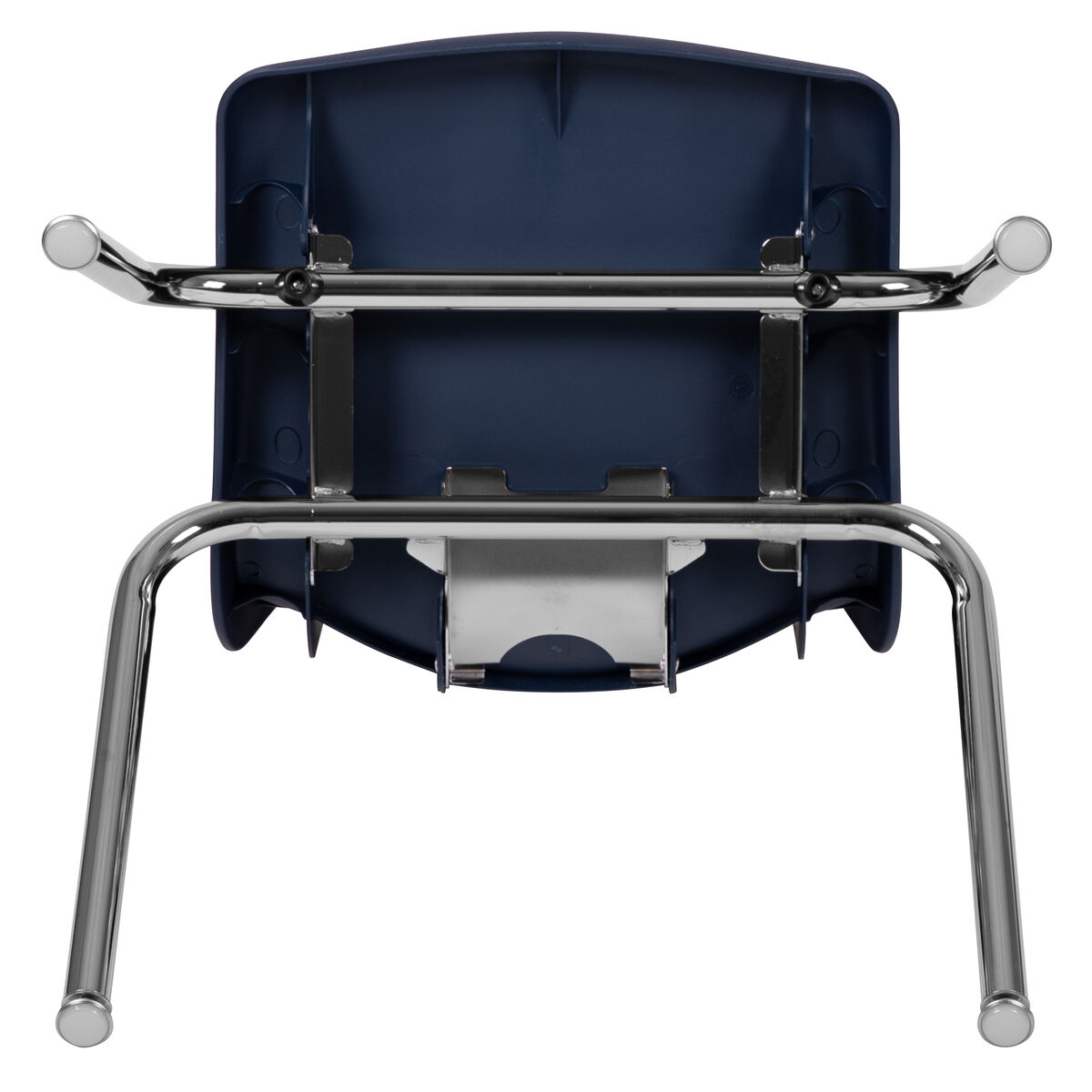 Excellent Advantage Navy Student Stack School Chair 16 Inch Caraccident5 Cool Chair Designs And Ideas Caraccident5Info