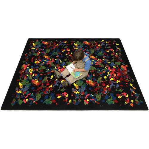 Our Splatter Paint Rug is on sale now.