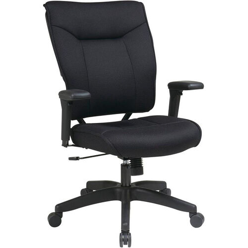 Our Space 37 Series Deluxe Mesh Seat and Back Managers Chair with 2-to-1 Synchro Tilt Control and Adjustable Arms - Black is on sale now.