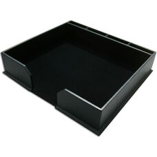 Classic Leather Conference Pad Holder - Black