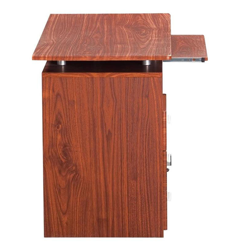 Charmant Our Techni Mobili Computer Desk With Storage   Mahogany Is On Sale Now.