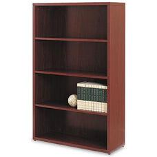 HON® 10500 Series Laminate Bookcase - Four-Shelf - 36w x 13-1/8d x 57-1/8h - Mahogany