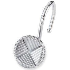 Forget Me Not Shower Hooks - Chrome