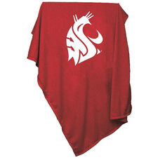 Washington State University Team Logo Sweatshirt Blanket