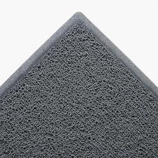 3M Dirt Stop Scraper Mat - Polypropylene - 36 x 60 - Slate Gray