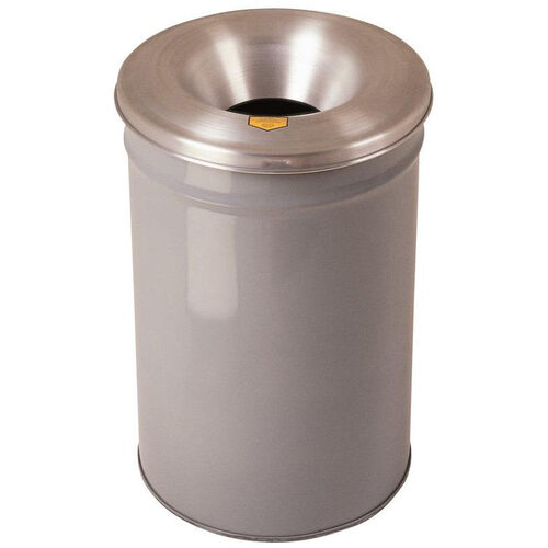 Our Cease-Fire® Safety Drum 15 Gallon Waste Receptacle with Aluminum Head - Gray is on sale now.
