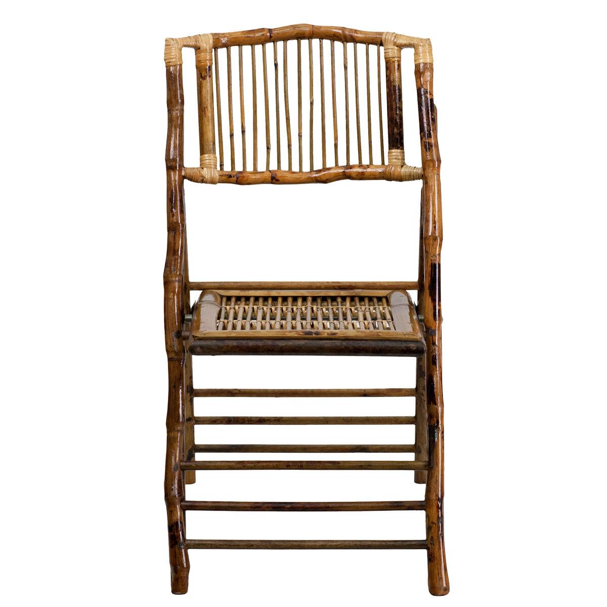 bamboo folding chair x 62111 bam gg bizchair com