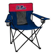 University of Mississippi Team Logo Elite Folding Chair