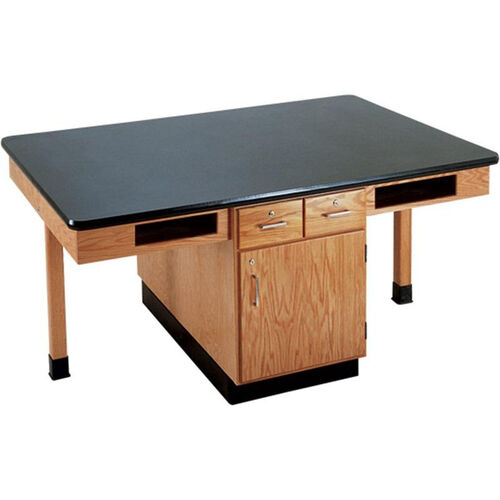 Our 4 Station Wooden Science Table with 1.25