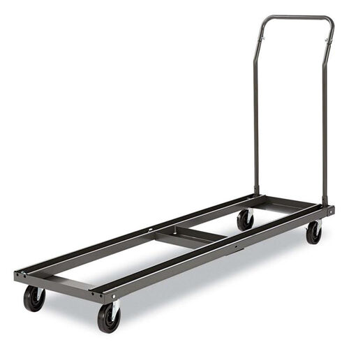 Alera® Folding Chair and Table Cart - 20-3/4w x 50-5/8d to 75-3/8d - Black
