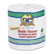 Genuine Joe Bath Tissue - 2 -Ply - 550SH -RL - 80 count - WE