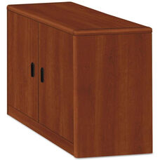 HON® 10500/10700 Series Laminate Locking Storage Cabinet with Two Doors - 36