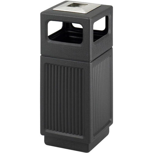 Our Canmeleon™ 15 Gallon Indoor or Outdoor Recessed Panels Ash Urn Side Receptacle - Black is on sale now.