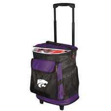 Kansas State University Team Logo Rolling Cooler