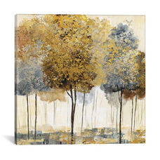 Metallic Forest I by Nan Gallery Wrapped Canvas Artwork