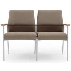 Mystic Series Tapered Split Back 2 Seat Sofa