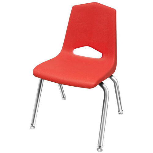 Our MG Series V-Back Steel Frame Stack Chair with 12