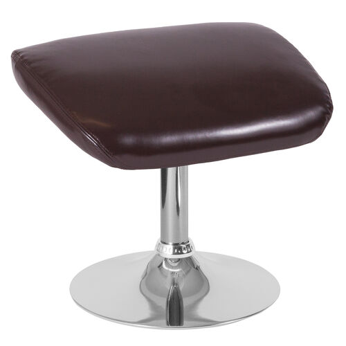 Our Egg Series Brown LeatherSoft Ottoman is on sale now.