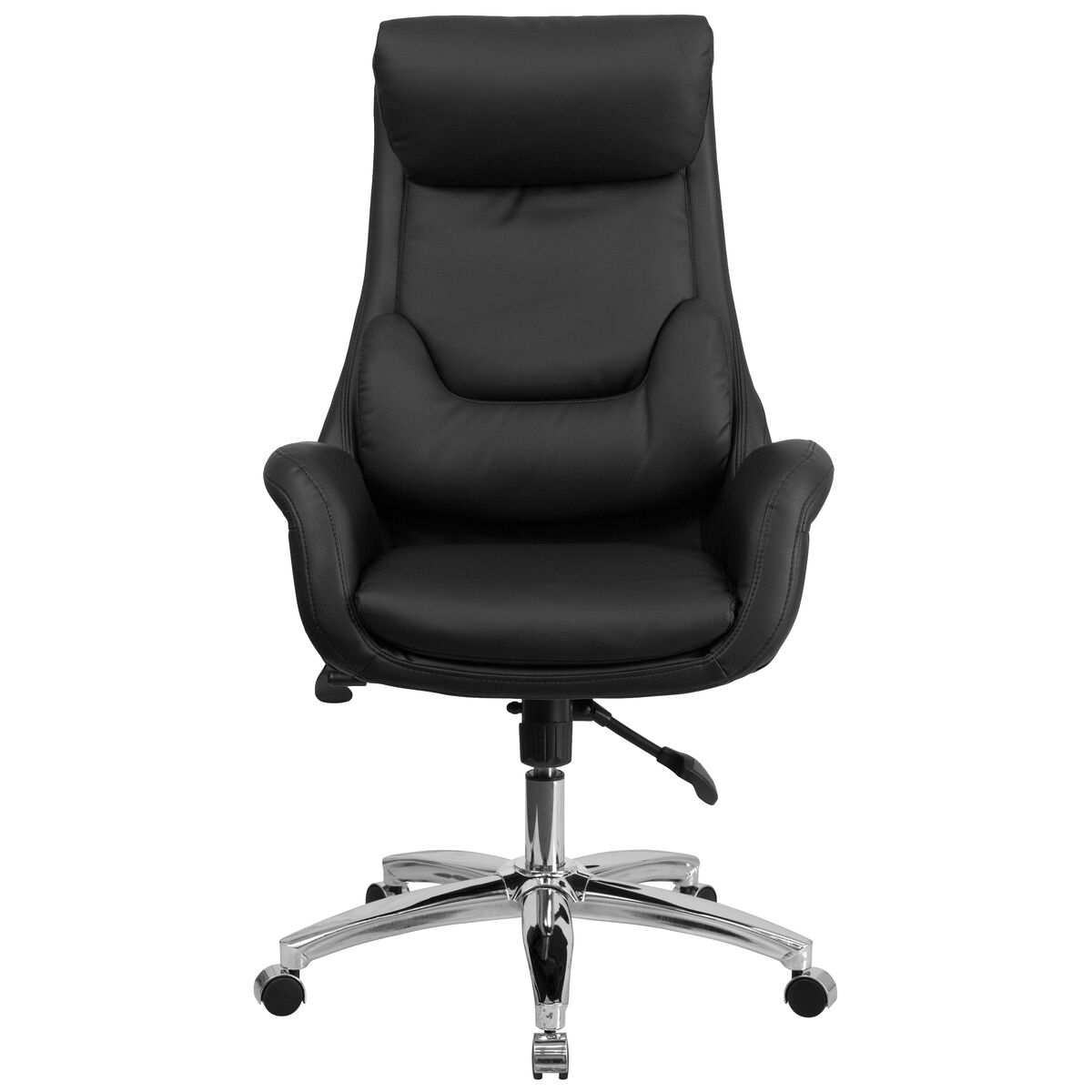 black high back leather chair bt 90027oh gg bizchair com