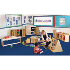 Infant/Toddler Healthy Kids Plywood Classroom Furniture Package with Tuff-Gloss UV Finish - Set of 10
