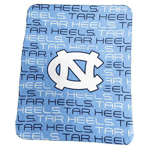 Our University of North Carolina Team Logo Classic Fleece Throw is on sale now.