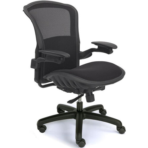 Our Viper Mesh Back Task Chair with Adjustable Lumbar Support - Black is on sale now.