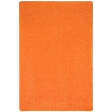 Kid Essentials Just Kidding Polyester Rug with Actionbac Backing - Tangerine Orange - 48