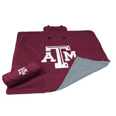 Texas A&M University Team Logo All Weather Blanket