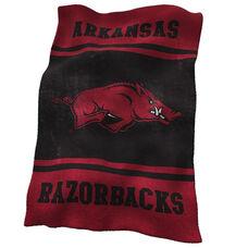 University of Arkansas Team Logo Ultra Soft Blanket
