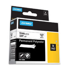 Dymo RhinoPRO 5000 Permanent Wire and Cable Label Tape - 0.37