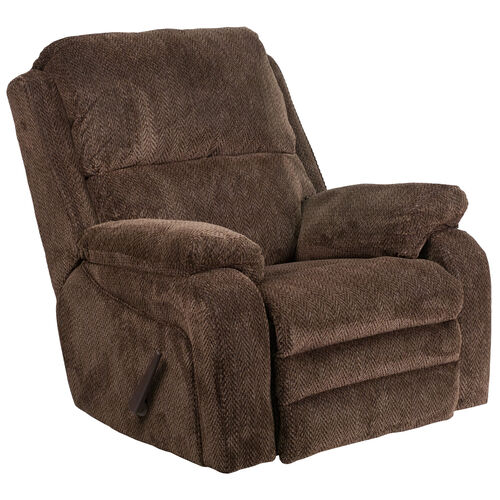 Our Contemporary Gazette Fabric Rocker Recliner is on sale now.