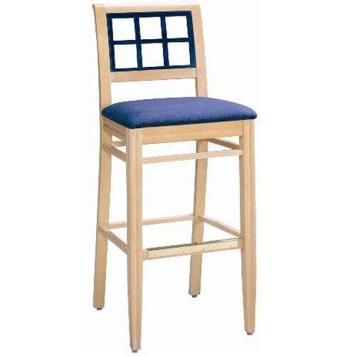 598 Bar Stool w/ Upholstered Seat - Grade 1