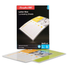 Swingline Selfsealing Laminating Pouches - Pack Of 10